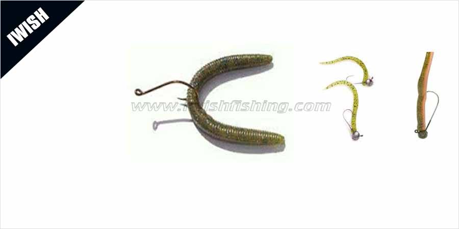 Fishing lures fishing tackle wholesale iwish for Fishing worm molds