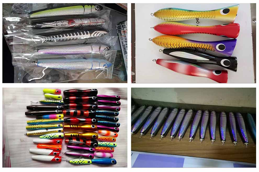 Lure making supplies for Fishing lure making