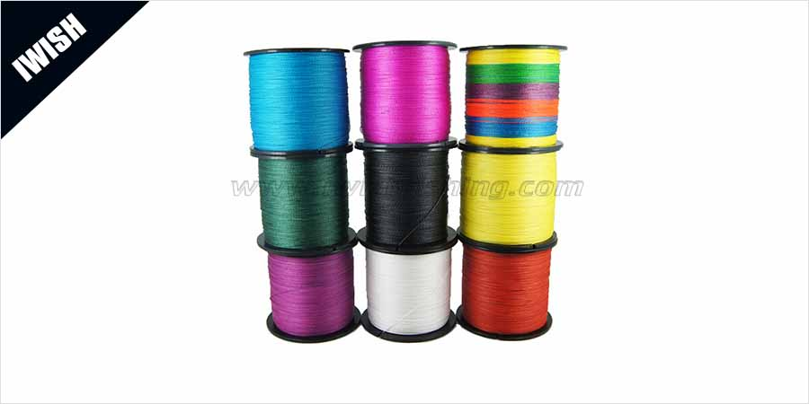 Pe braided fishing line fishing tackle wholesale iwish for Fishing line for sale