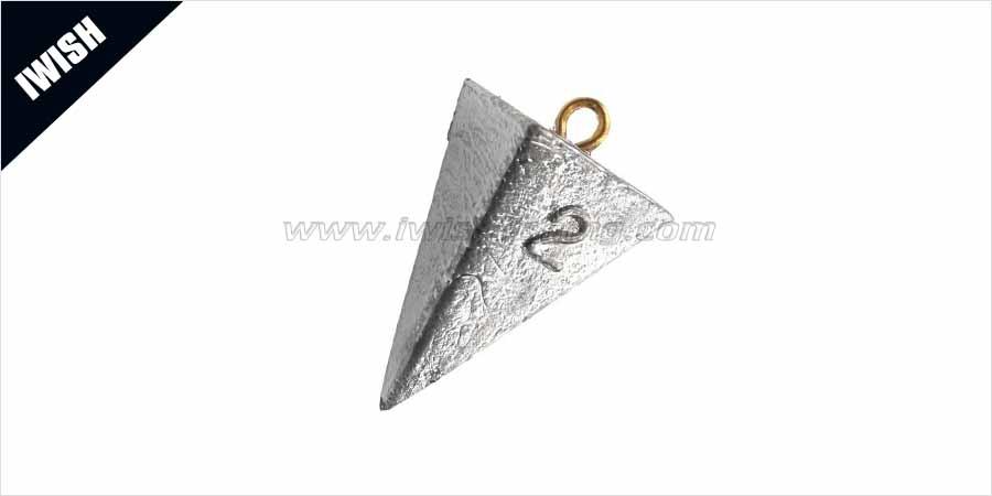 PYRAMID SINKER 2OZ-Ideal for Bottom Sinking Rigs