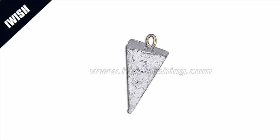 Sea Fishing Pyramid Sinker 3 oz