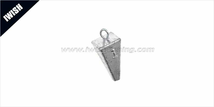 pyramid weights -pyramid sinker fishing