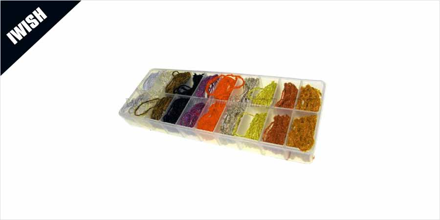 Acrylic Fly Tying Rug Yarns Spinner Wings Cheap Fishing Yarns Bulk Sale