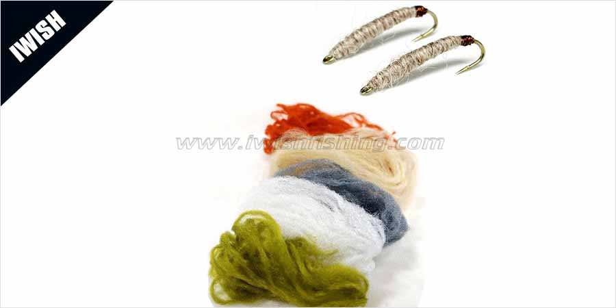 Dressing Effective Flies for Catching Salmon, Trout, Steelhead Poly Yarn Fly Fishing
