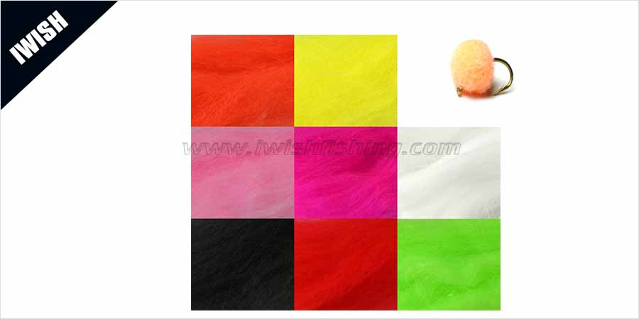 Fly Fishing Tackle Fly Tying Yarn Eggs