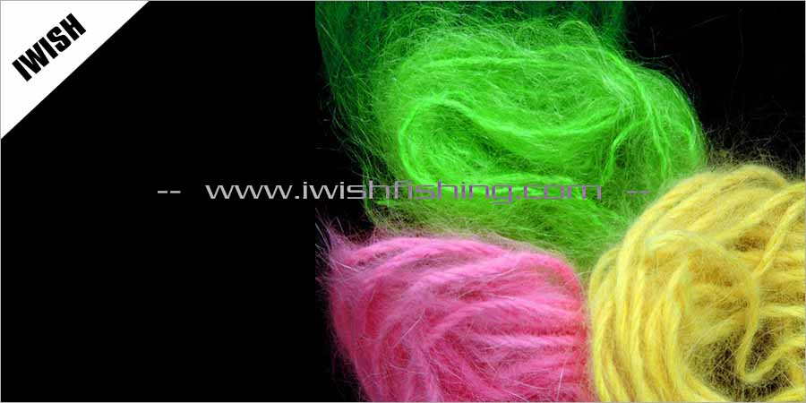 Salmon Fishing Fly Tying Egg Yarn For Fly Fishing