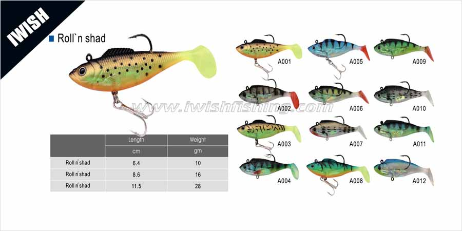 Soft Plastic Molds Best Bass Lure Swimbaits for Bass