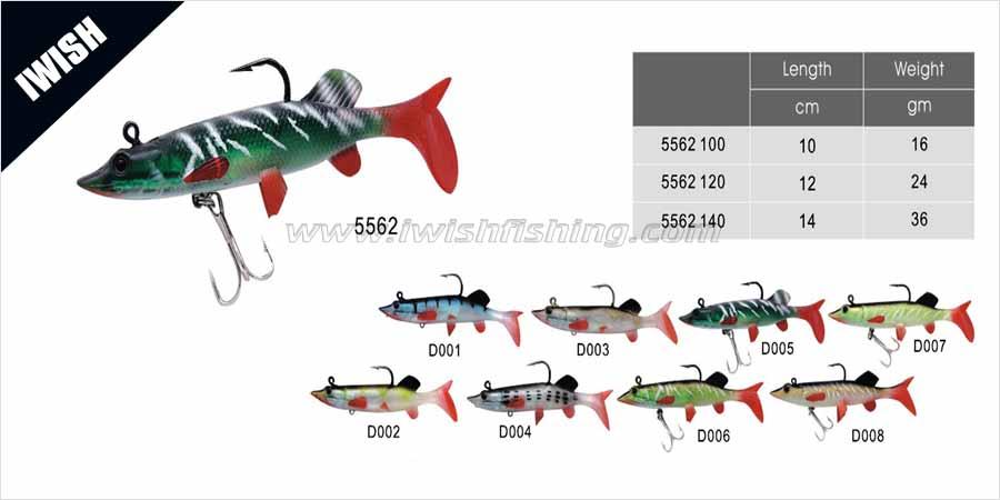 Sportfishing Big Bite Baits Swimbaits for Pike Fishing Lure
