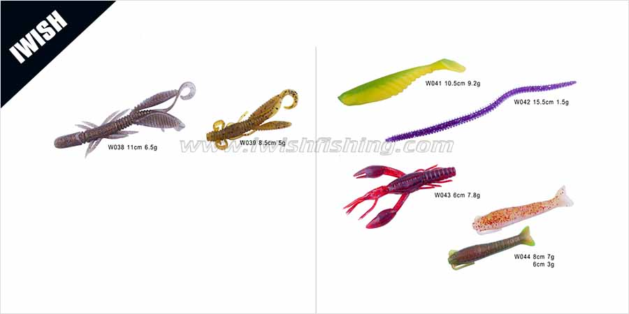 Fishing lures fishing tackle wholesale iwish for Best fishing lures for bass