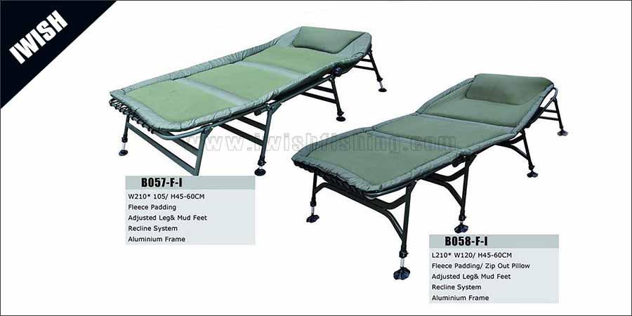 2016 Popular Memory Foam Mattress Fishing Bed Chair