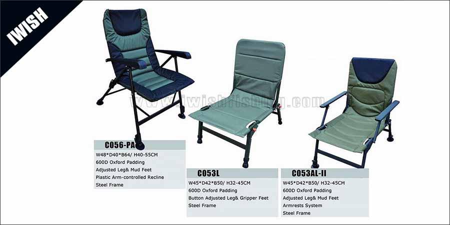 Carp Set Up Fishing Sports Needs Light Recliner Chair