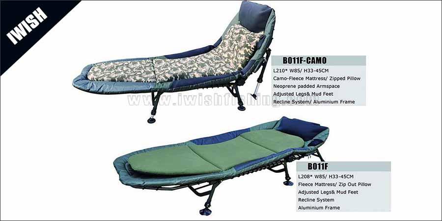 Fishing Bedchair Sale To UK, Germany Market Popular