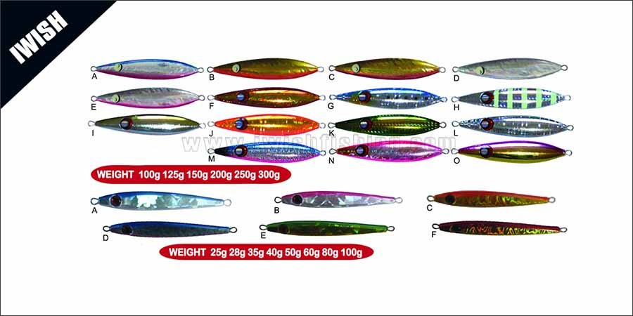 Holographic Body 3D Eyes Lead Lure Manufacturer