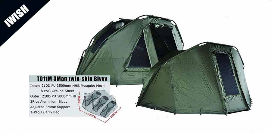 3 Man Oval Color Carp Fishing Shelters And Bivvies Sale