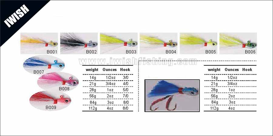 Bucktail Jig Assist Hook Fishing