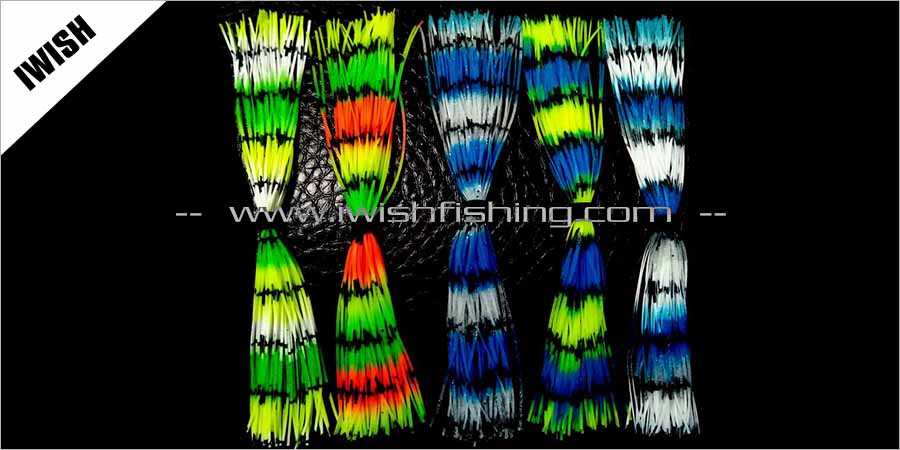 Bulk Rubber Skirts For Fishing Lures Making -Wholesale Skirts Supplies