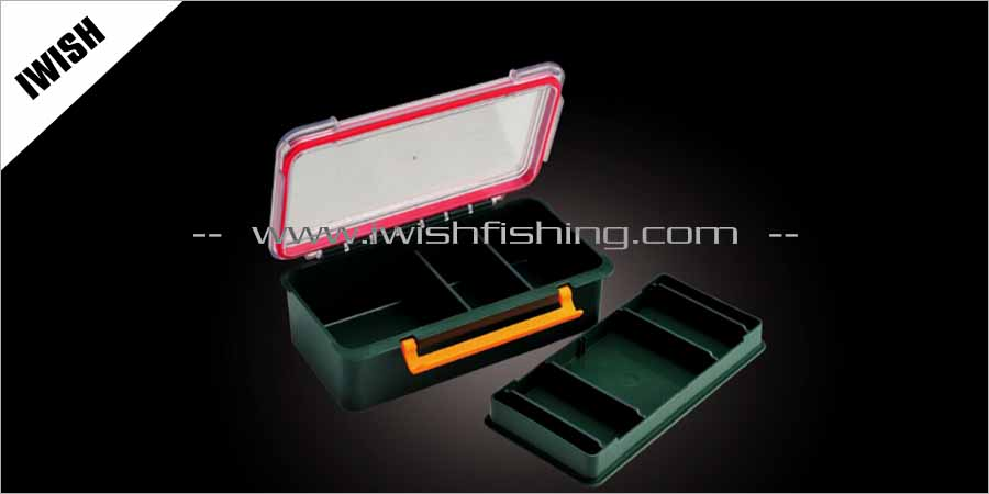 Fishing Gear One-Tray Tackle Box Or Tool Box