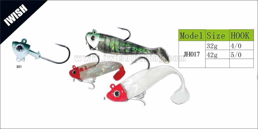 Fishing Jigs Premium Quality Wigh VMC Hooks Jigheads