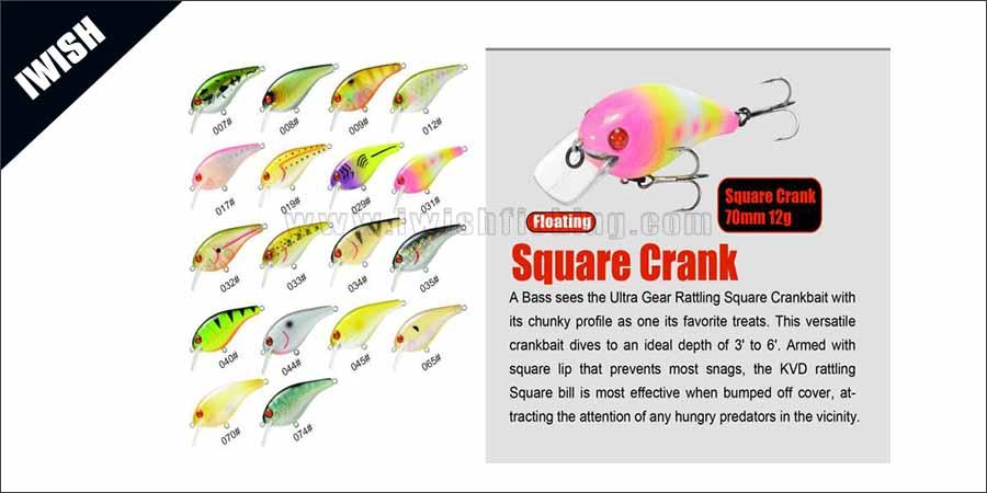 Flat Flash Crank Lure Wholesale