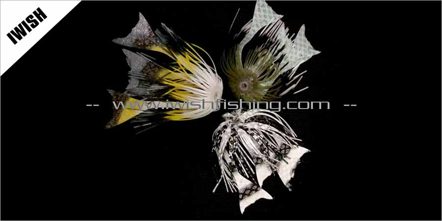 Frog Hair Material Offshore Teasers Lure Wholesale Lure Skirts