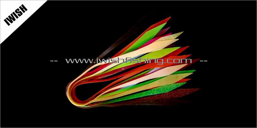 Handmade Fishing Jig Skirt Making Material For Fishing Lure