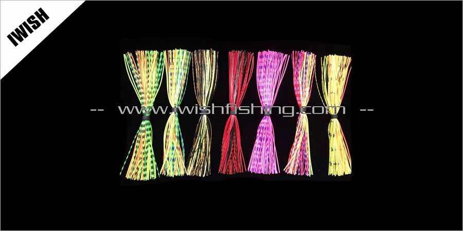 Lure Component Silicone Skirts Board