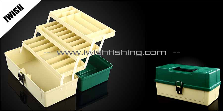 Portable Fishing Trip Carried Worm Gear Tackle Box Fishing Box