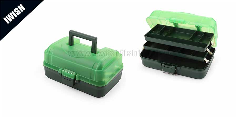 Sports & Outdoors Two Tray Fishing Tackle Box Supplies