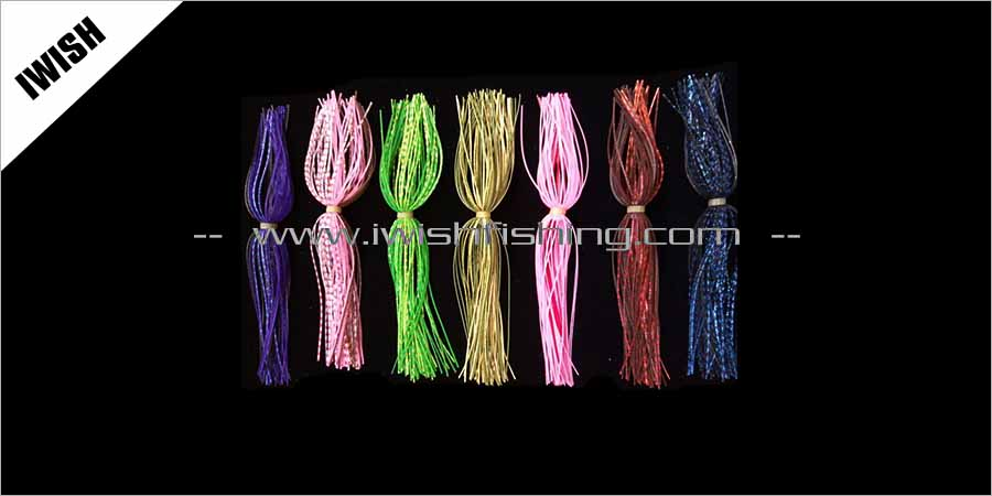 Terminal Accessories Silicone Skirts Fishing Lures Material Manufacturing