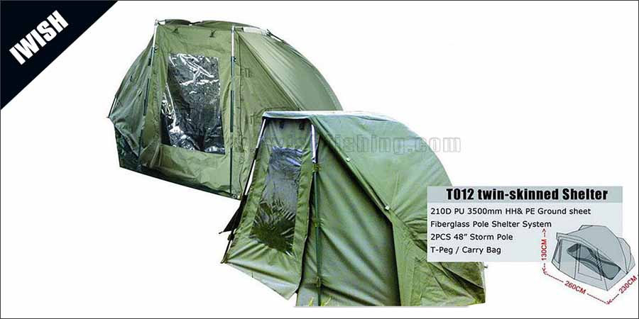With Rear Vents Cheap 1 Man Bivvy Shelter Wholesale