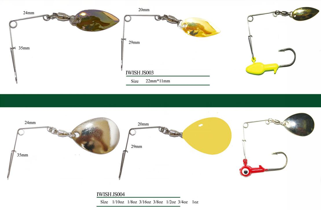 Colorful luminous jig heads weights for crappie panfish bass and jig spinner jig spinner types nvjuhfo Images