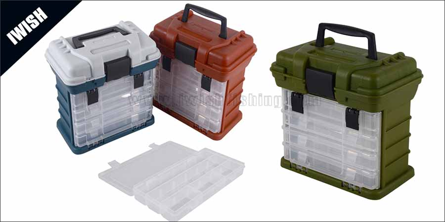 Fish Boxes All Weather Suitable Front Loader Tackle Box