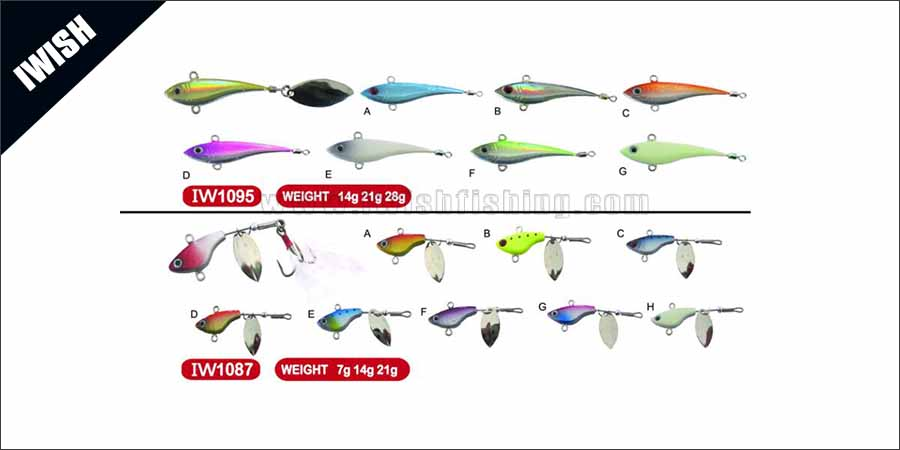 Inshore & Offshore Painted Jigs Handmade In China
